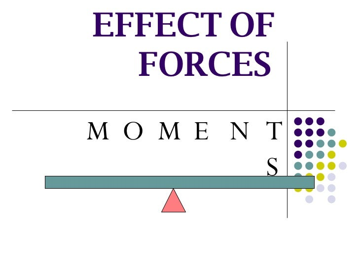 TURNING EFFECT OF FORCES MOMENTS
