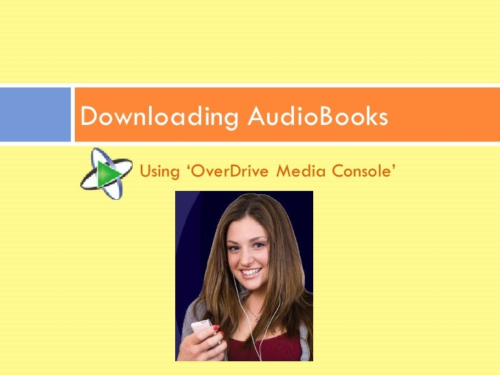 how to download audio books from overdrive
