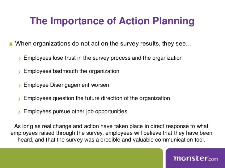 Turning Employee Survey Data Into Action