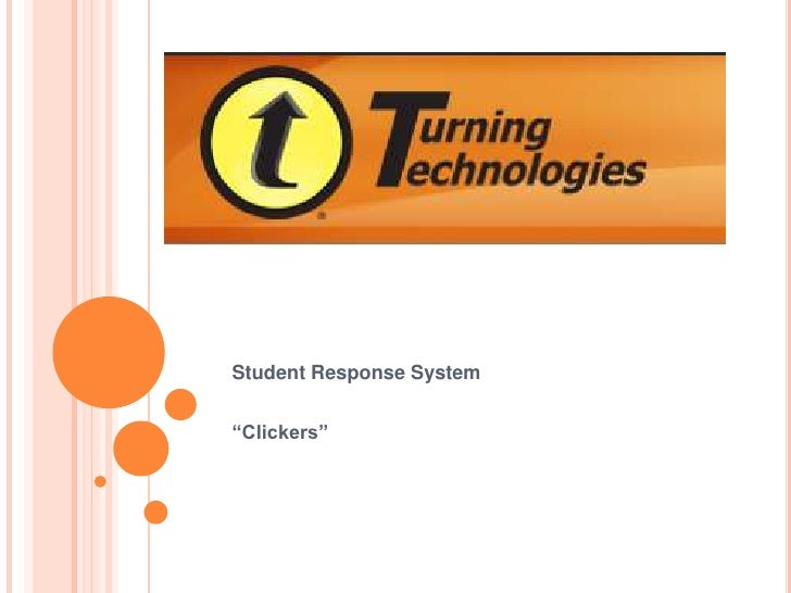 "Student Response System<br />""Clickers""<br />"