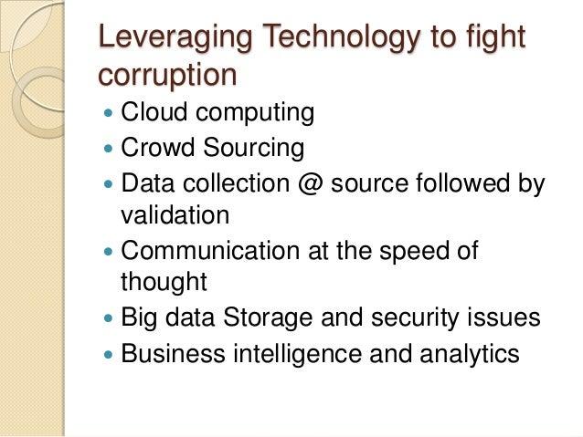 Corruption of technology