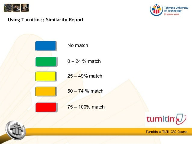turnitin report