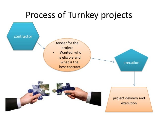 turn key project The term turn-key project (turn-key delivery) describes a projec t(or the delivery of such) in which the supplier or provider is responsible to the client for the entire result of the.