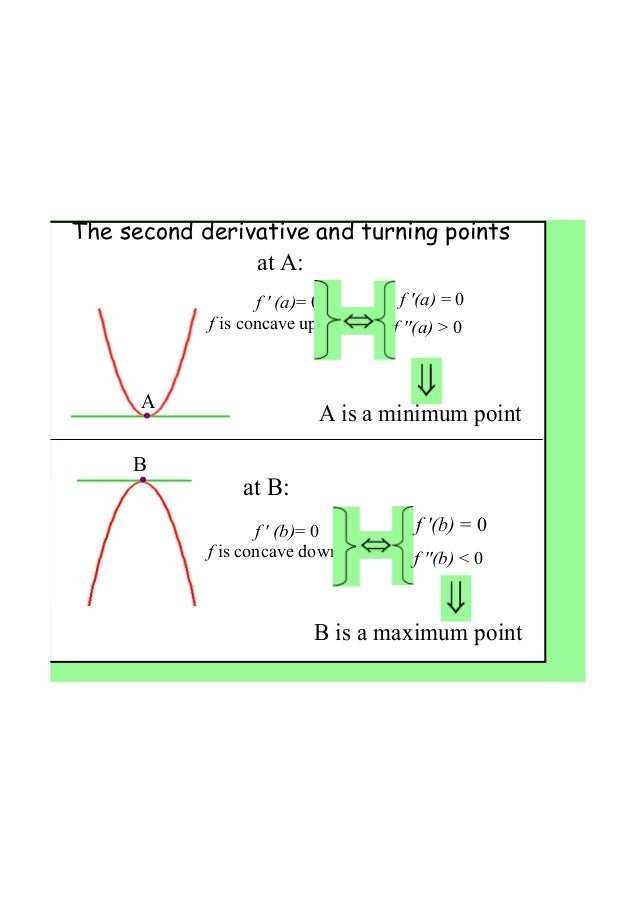 how to find the nature of stationary points