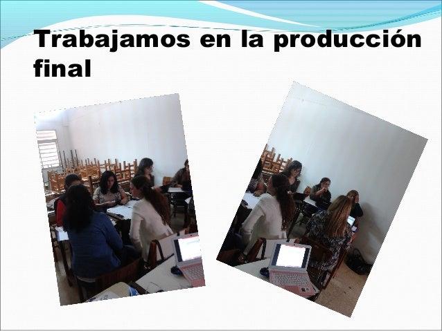 Producciones finales Grupo 1