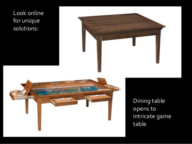 Table Make Your Formal Dining Room Into A Multi Purpose 24