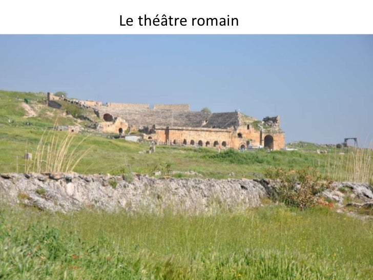 Le théâtre romain<br />