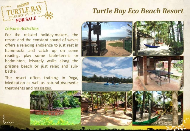 resort brochure
