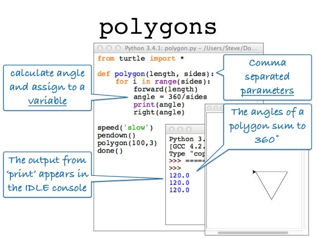 Turtle Geometry the Python Way