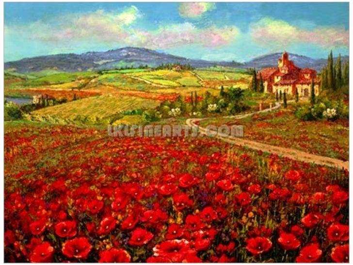 Tuscan Italian Vineyard Decor Canvas Art Wall Picture005