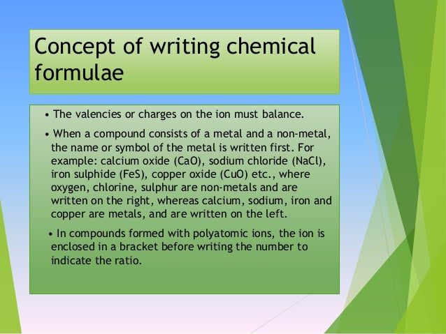 how to write chemical symbols for ions