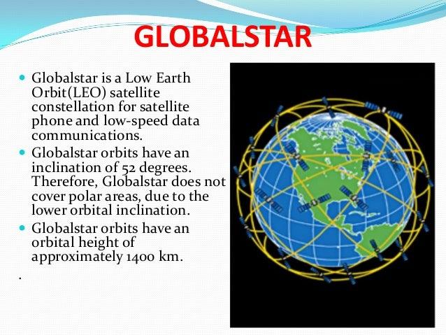 Iridium Globalstar Ico Satellite System