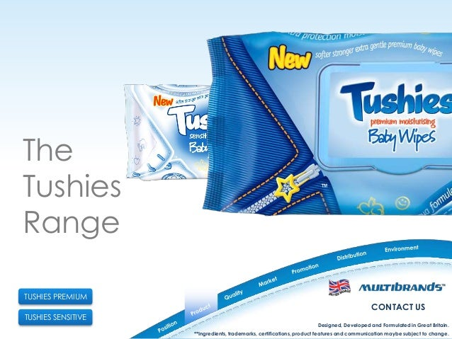 Tushies Baby Wipes Presentation