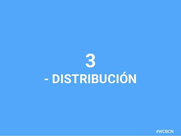 dariobf.com #WCBCN 3 - DISTRIBUCIÓN