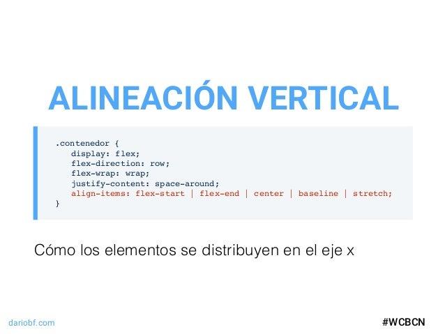 dariobf.com #WCBCN .contenedor { display: flex; flex-direction: row; flex-wrap: wrap; justify-content: space-around; align...