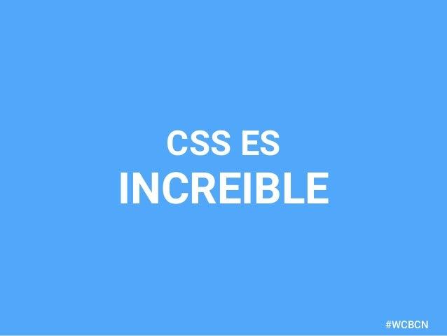 dariobf.com #WCBCN CSS ES INCREIBLE
