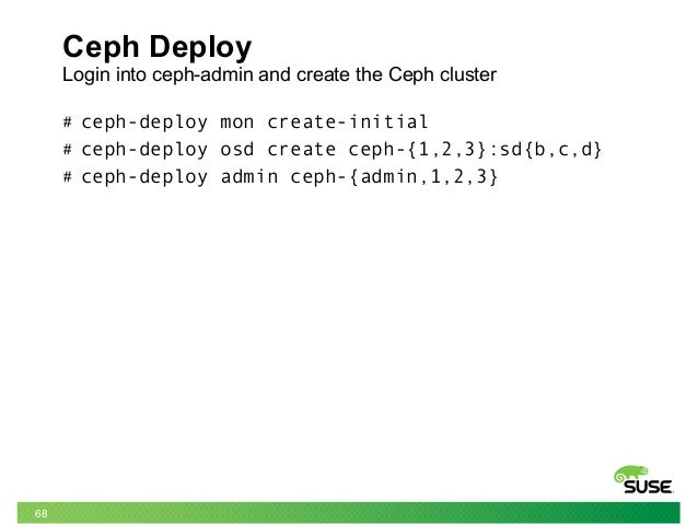 TUT18972: Unleash the power of Ceph across the Data Center