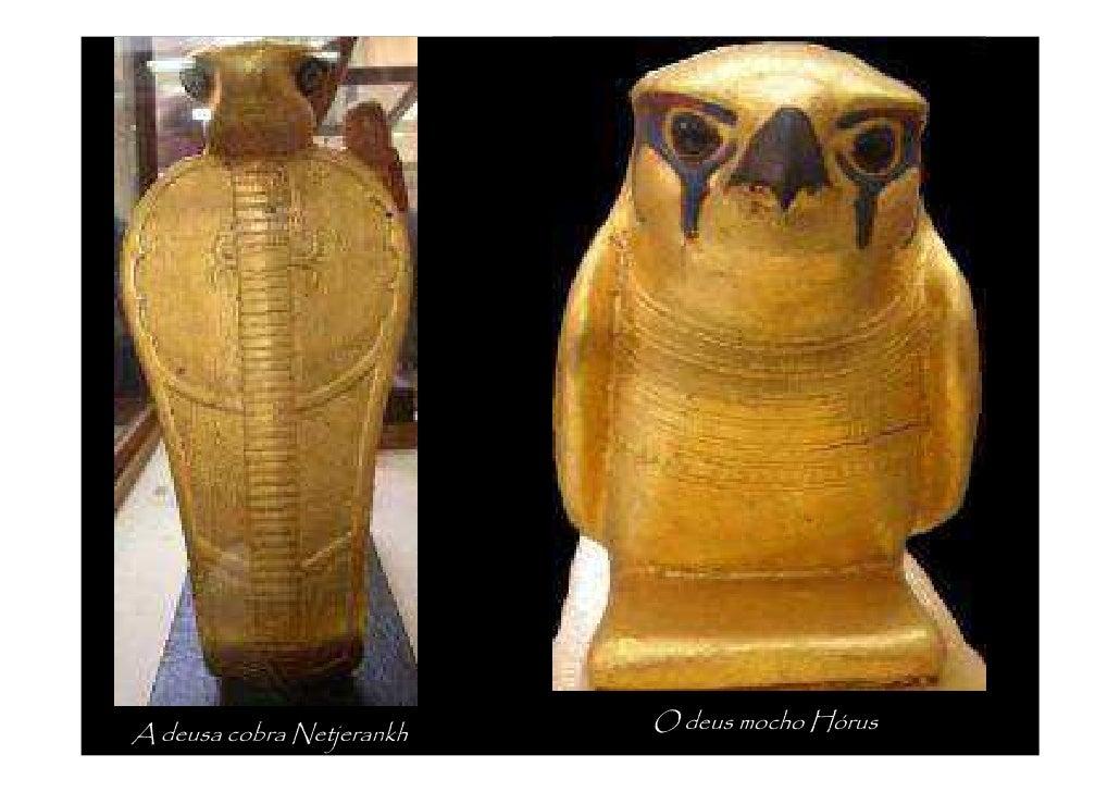 Estatuetas representando o faraó