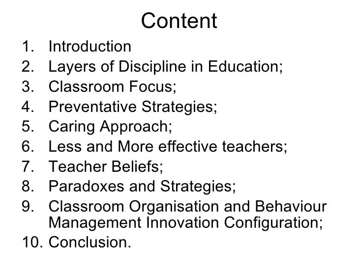 Innovative Classroom Strategies For Effective On Educational Transaction ~ Tut edu t preventative vs care classroom management