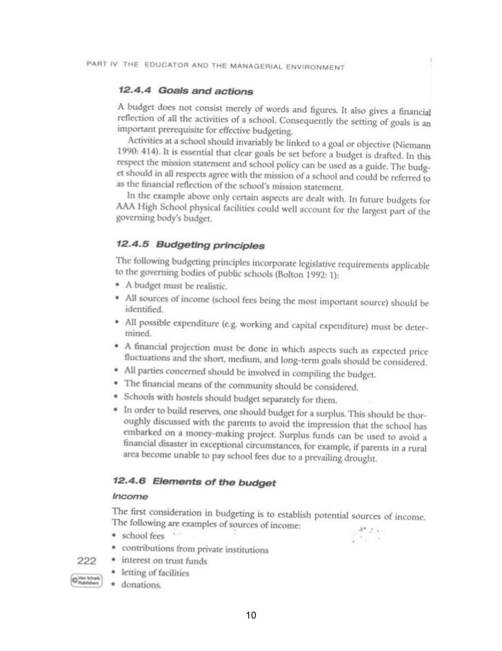 financial management chapter 10 Public finance management act no 1 of 1999 [assented to 2 march, 1999] [date of commencement: 1 april, 2000] chapter 10 financial misconduct part 1.