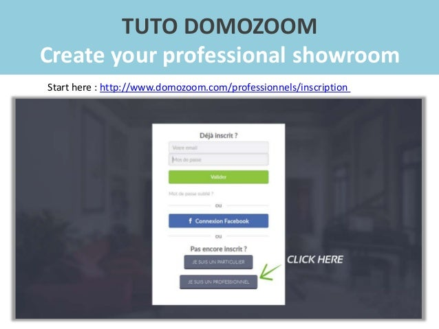 Domozoom tutorial - How to create your showroom Slide 3