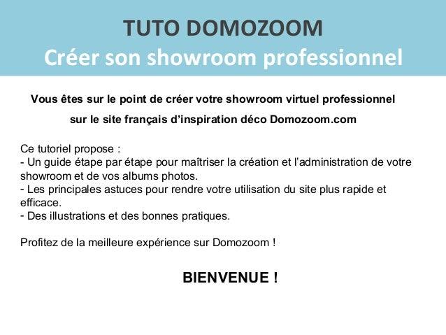 domozoom tutoriel cr er son showroom. Black Bedroom Furniture Sets. Home Design Ideas