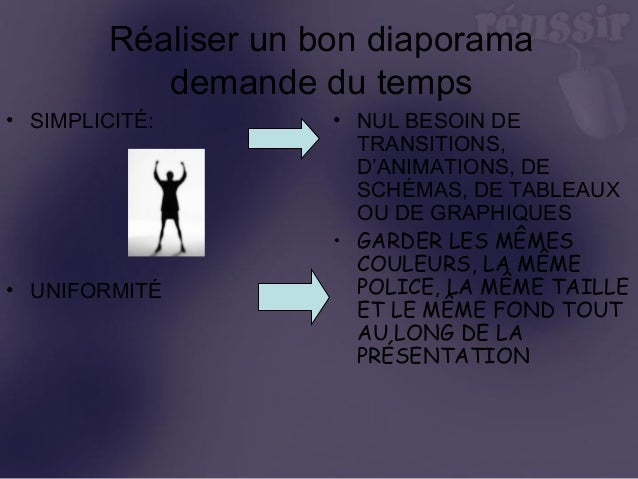 comment r u00e9ussir son powerpoint
