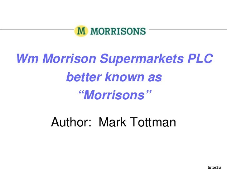 business analysis of morrisons Task 2: formulating a new strategy 21 organizational audit for morrisons swot analysis of morrisons swot analysis on morrison has given a clear picture of the company which points out.
