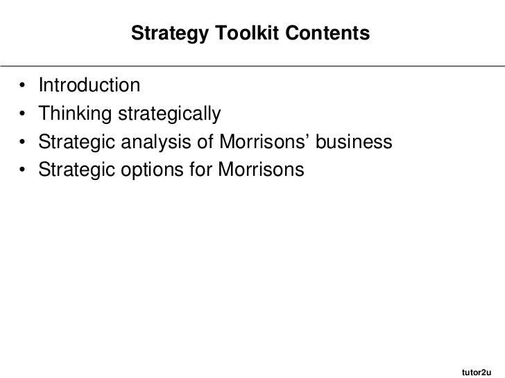 morrisons strategy
