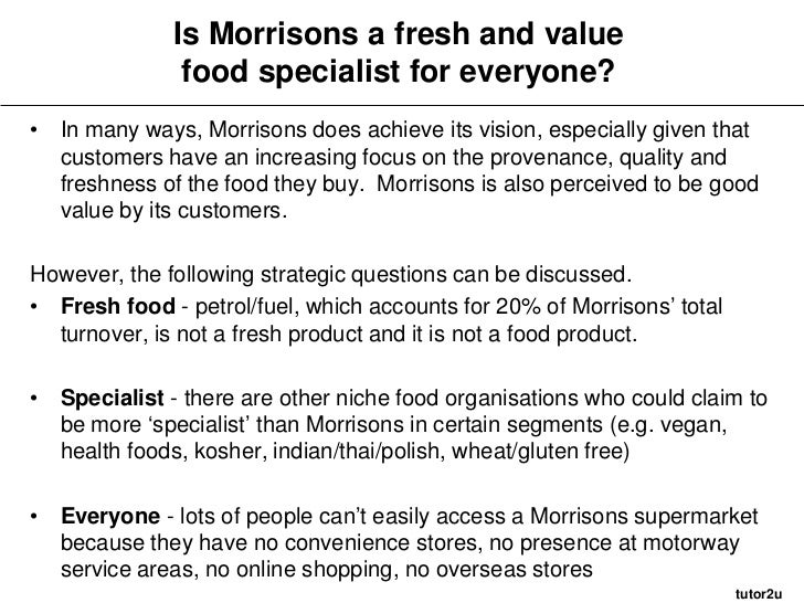 morrisons analysis The government is offering voters guilt-free tax cuts in a seductive package  aimed as much at the coming election as its broad economic.