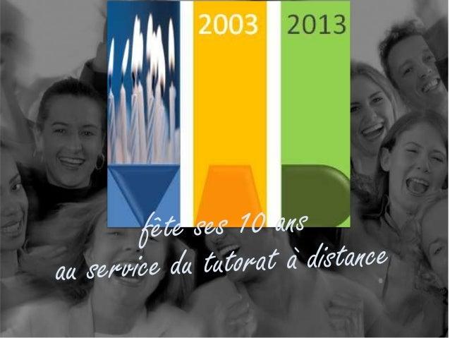 Le tutorat en monde immersif, Jean-Paul Moiraud 29 novembre 2013 L'objectif de cette conférence est de L'objectif de cette...
