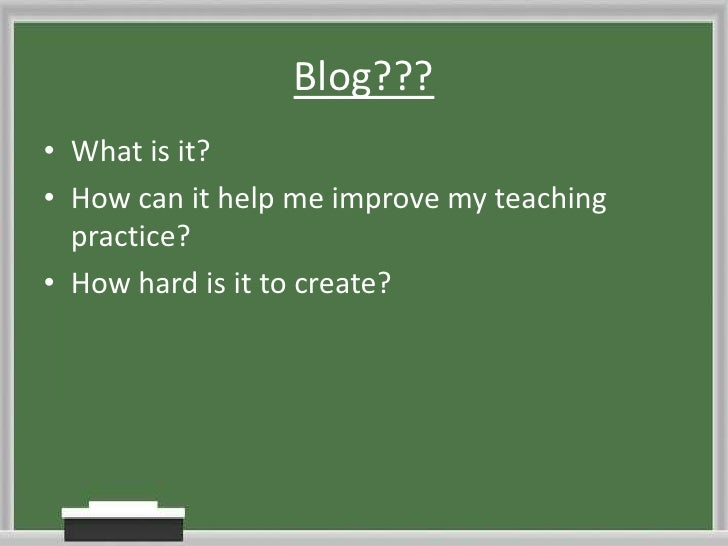 Tutor blogs 101 Slide 2