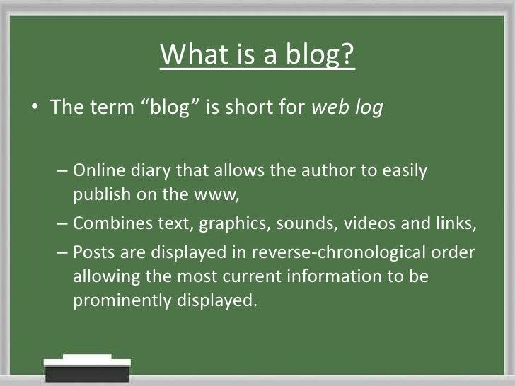 Tutor blogs 101 Slide 3