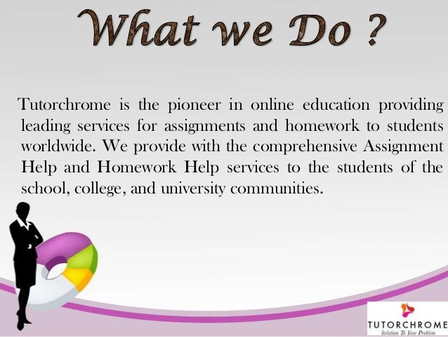 College assignment solutions services