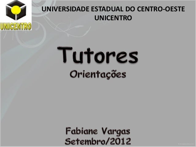UNIVERSIDADE ESTADUAL DO CENTRO-OESTE              UNICENTRO