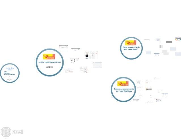 Tutoria de criação de contas:  Gmail, Facebook e Portal EMdiálogo