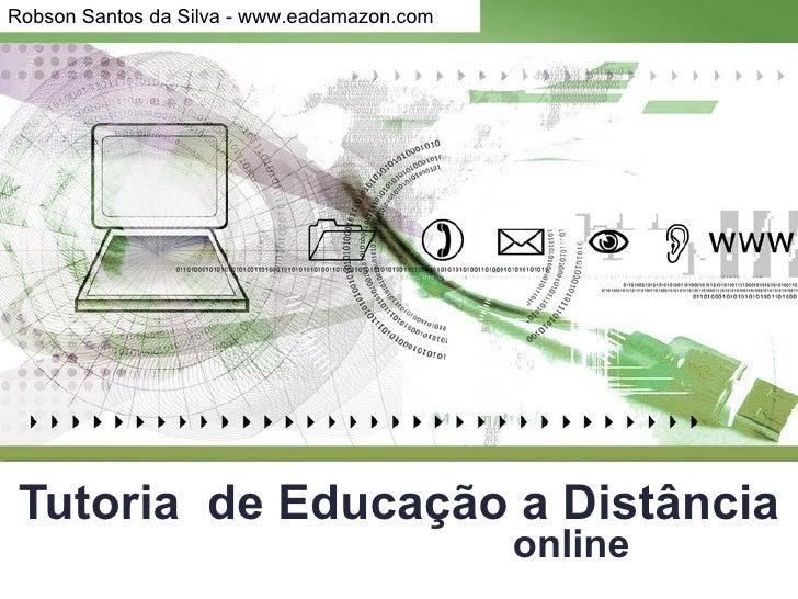 Tutoria  de Educação a Distância online