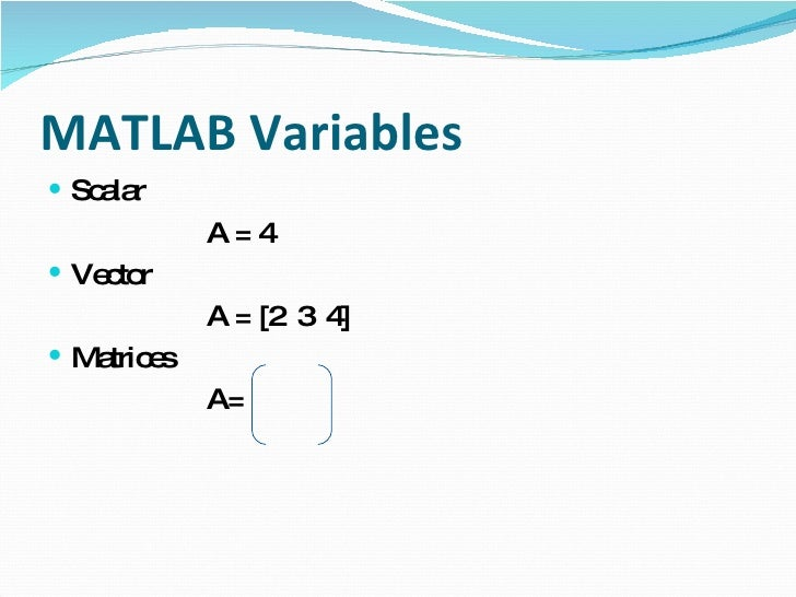 basic matlab tutorial Basic matlab graphing a step-by-step tutorial on creating a simple graph in matlab to what you would see in matlab if you were to type the line.