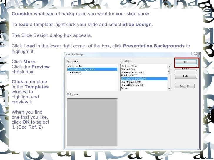 How to use openoffice impress - Open office impress templates ...