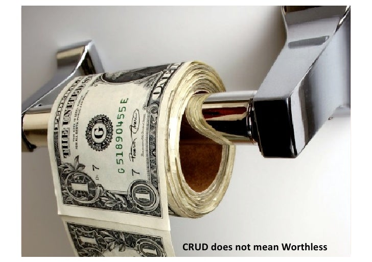 CRUD  is  Good?    • CRUD  is  good       – But  it's  not  great   • CRUD-‐style  services  u...