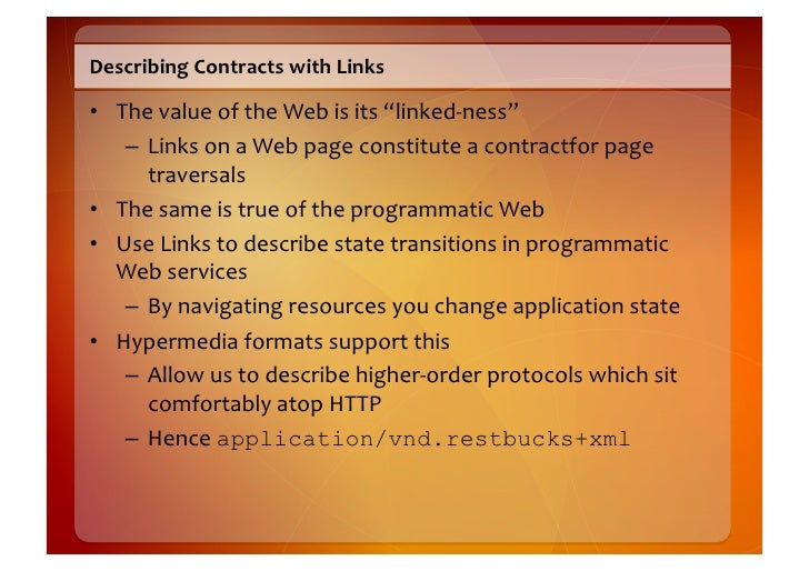 Links  are  State  Transitions