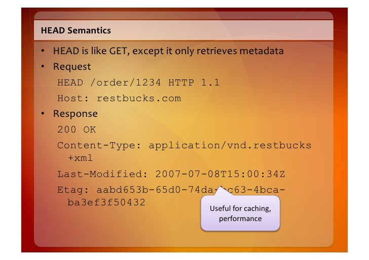OPTIONS  Semantics    • Asks  which  methods  are  supported  by  a  resource       – Easy  to  ...