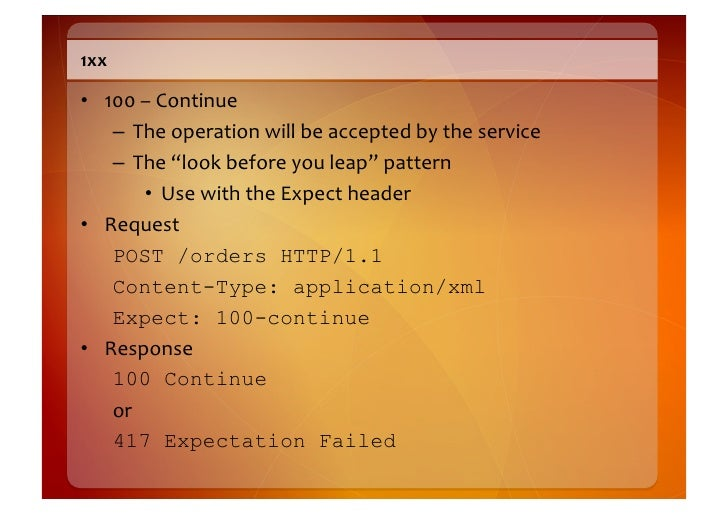 2xx    • 200  –  OK       – The  server  successfully  completed  whatever  the  client          a...