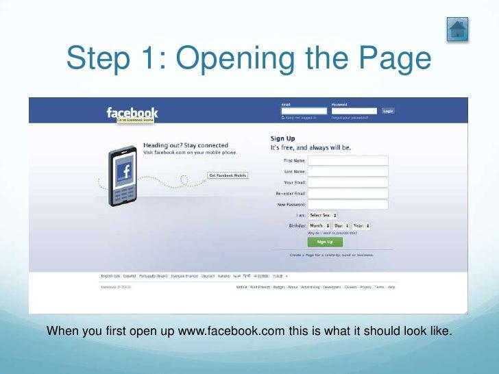 Com mobile facebook login www Facebook on