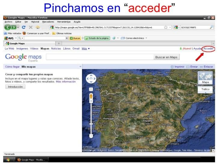 Tutorial Google Maps Slide 3