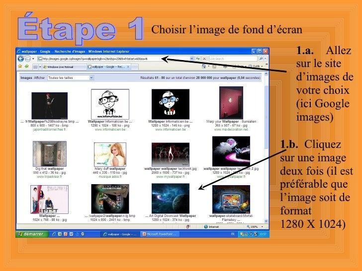 Étape 1 1.a.   Allez sur le site d'images de votre choix (ici Google images) 1.b.   Cliquez sur une image deux fois (il es...