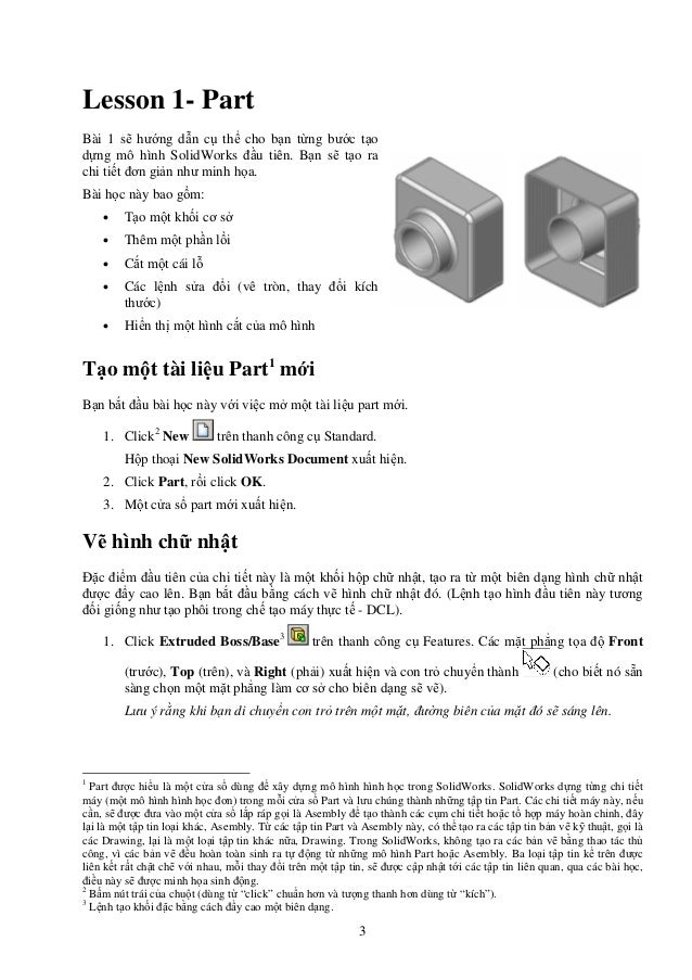 Tutorial hướng dẫn mô phỏng Solidworks  Slide 3