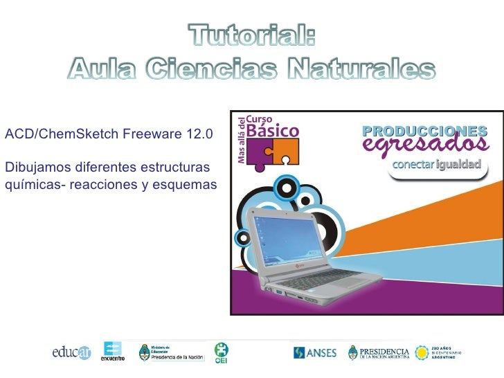 ACD/ChemSketch Freeware 12.0 Dibujamos diferentes estructuras químicas- reacciones y esquemas