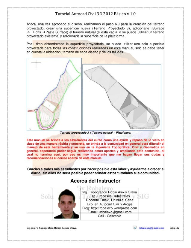 Tutorial Autocad Civil 3d 2012 Bc3a1sico V border=