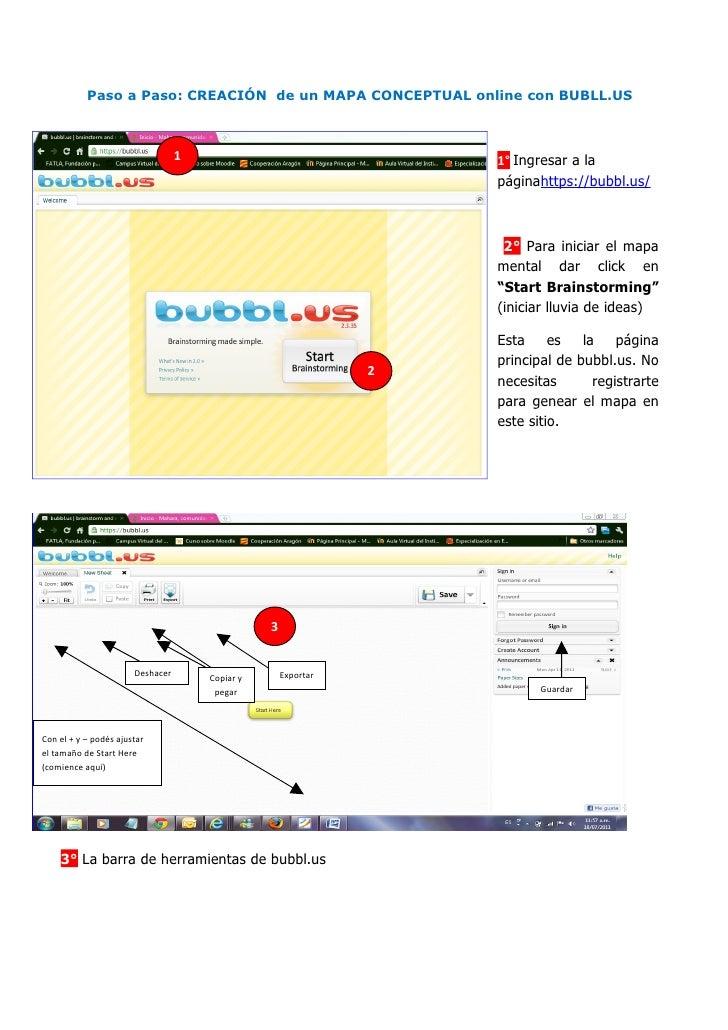 Tutorial.bubbl.us mapaconcep-online